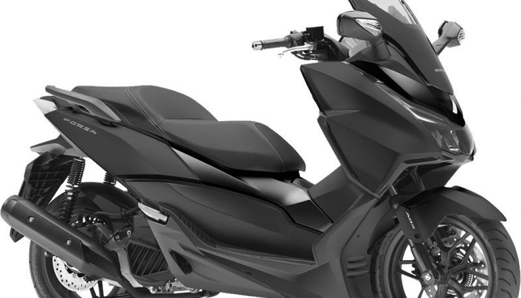 honda forza 125 nowo na sezon 2015 motocykle 125. Black Bedroom Furniture Sets. Home Design Ideas