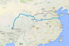 Chiny, z Zachodu na Wschód. Część pierwsza