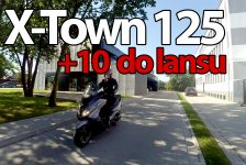 +10 do lansu na mieście – Kymco X-Town 125