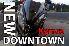 Kymco New Downtown 125i ABS – są powody do mruczenia