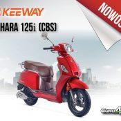 Nowość – Keeway Zahara 125 (CBS) Euro4