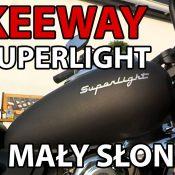 Keeway Superlight 125 – Mały słonik