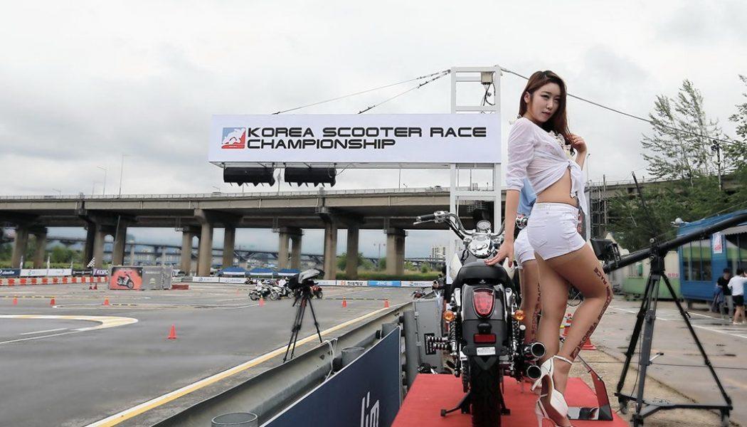 Wyścigi skuterów i motocykli w Korei