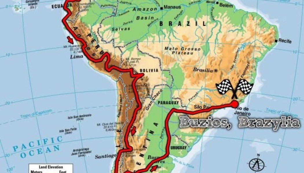 Przejechałem Amerykę Południową na motocyklu 125