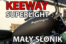 Keeway Superlight 125 – Mały słonik