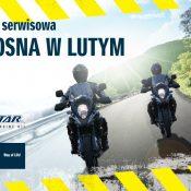 """Promocyjna akcja serwisowa Suzuki """"Wiosna w lutym"""""""