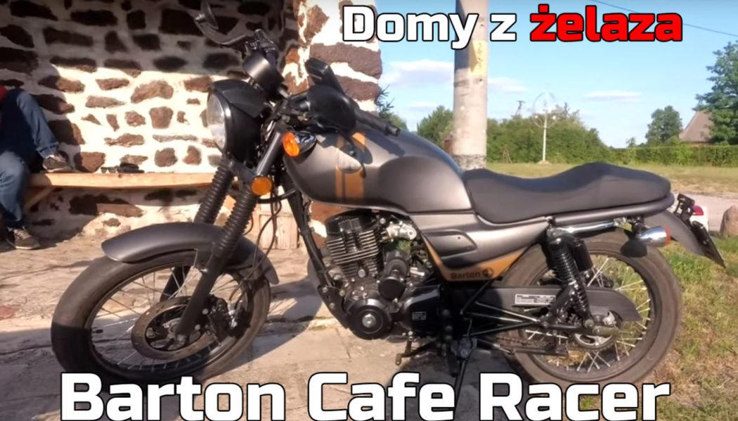 Barton Cafe Racer 125 | Domy z żelaza