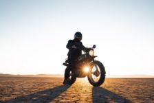Batman na motocyklu…