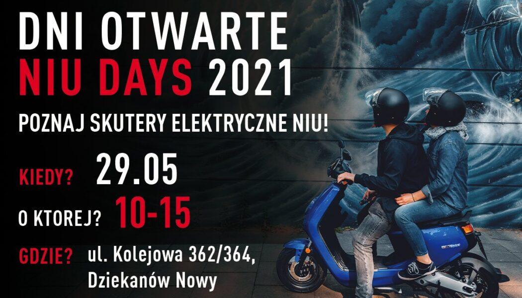 Dzień z NIU w Motor-Land 29.05.2021