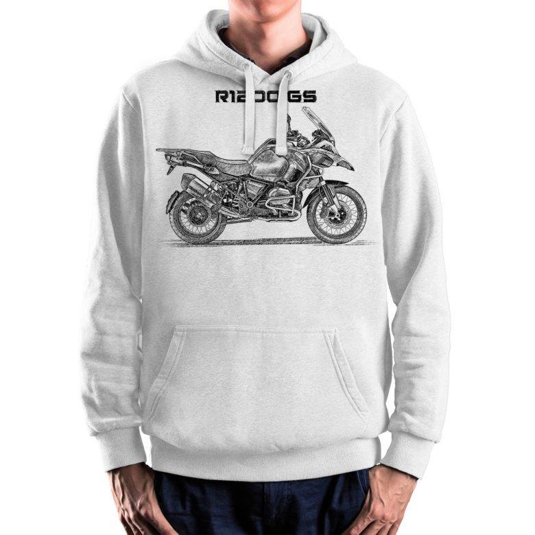 prezent dla motocyklisty bluza z BMW R1200 GS