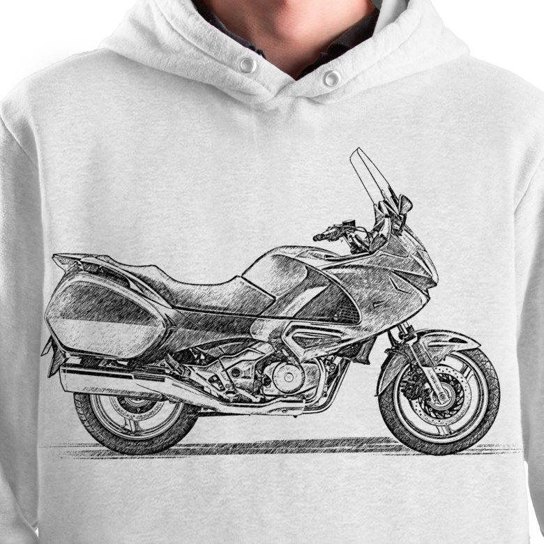 prezent dla motocyklisty bluza z Honda Deauville
