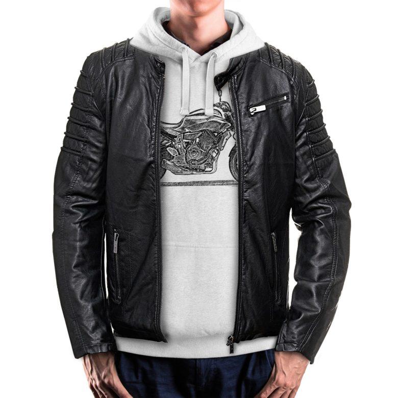 bluza dla motocyklisty z kurtką Yamaha MT-07
