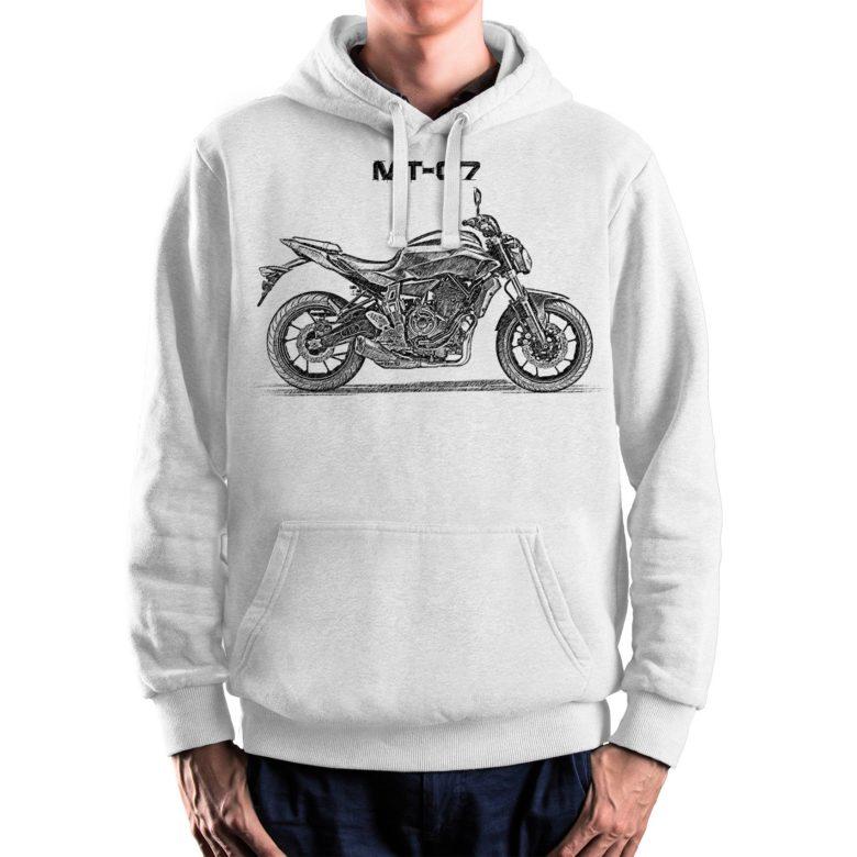 prezent dla motocyklisty bluza z Yamaha MT-07