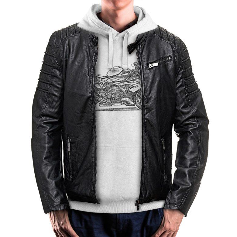 bluza dla motocyklisty z kurtką BMW S1000RR