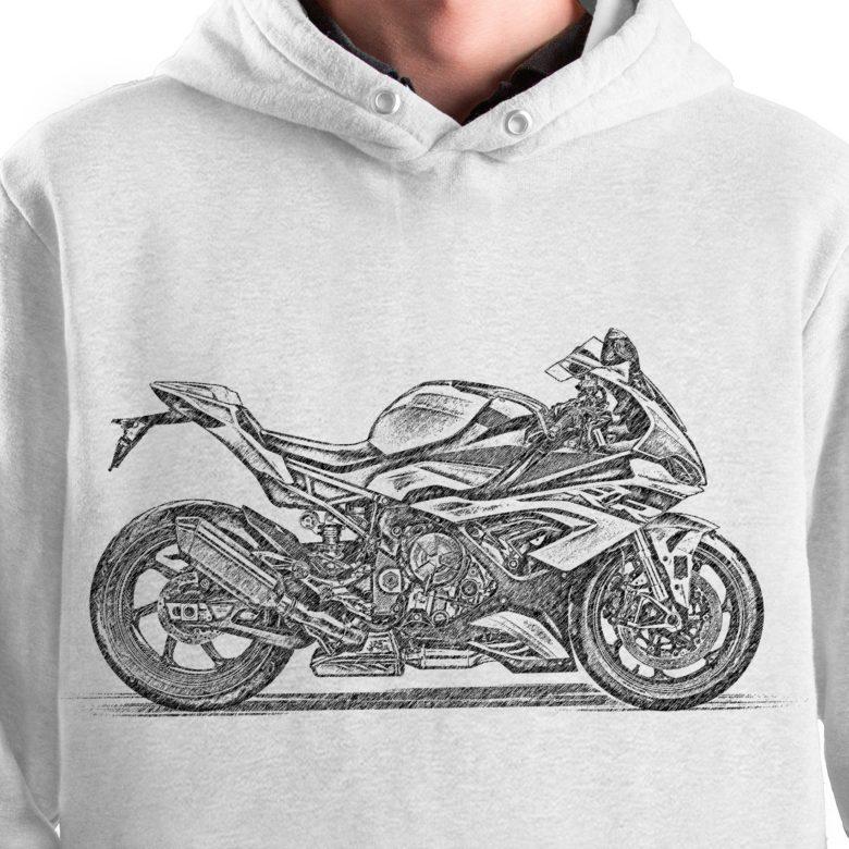 prezent dla motocyklisty bluza z BMW S1000RR