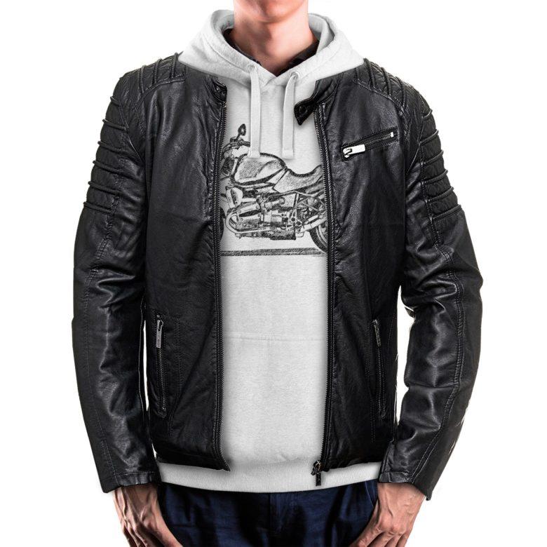 bluza dla motocyklisty z kurtką BMW R850R
