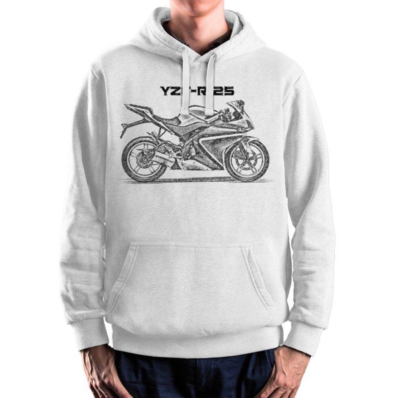 prezent dla motocyklisty bluza z Yamaha YZF R125