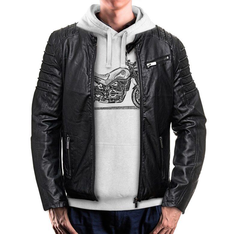 bluza dla motocyklisty z kurtką Benelli Leoncino