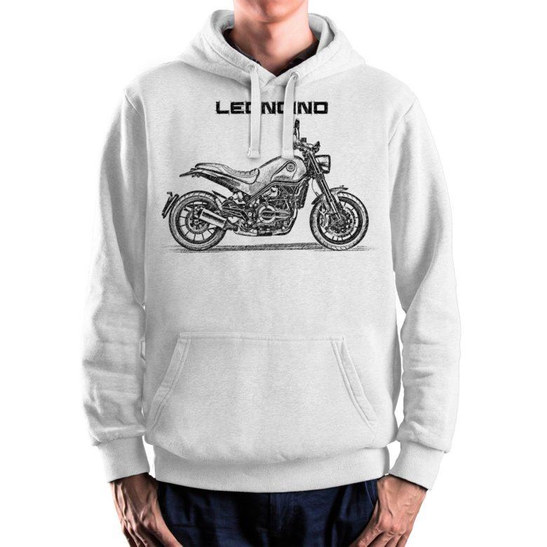 prezent dla motocyklisty bluza z Benelli Leoncino