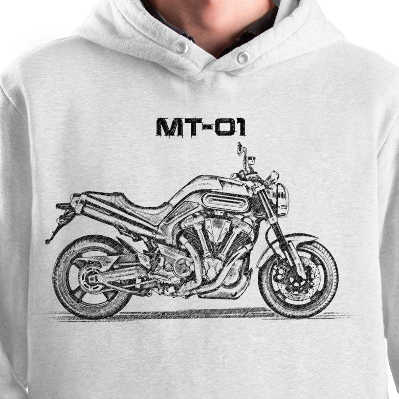 prezent dla motocyklisty bluza z Yamaha MT-01