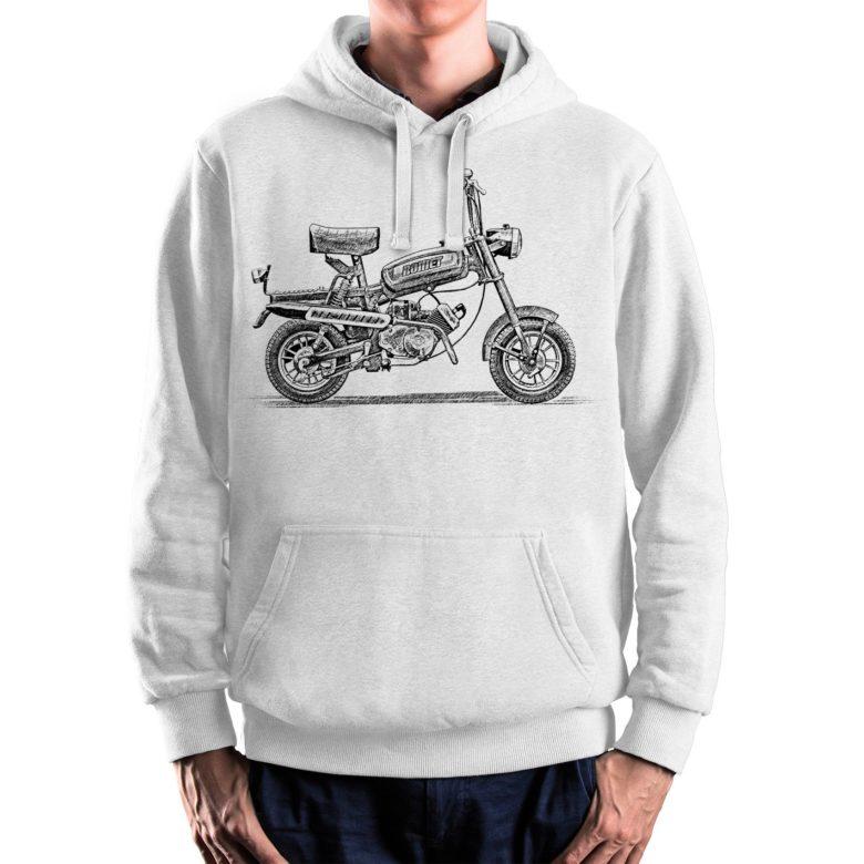 prezent dla motocyklisty bluza z Romet Pony Motorynka PRL