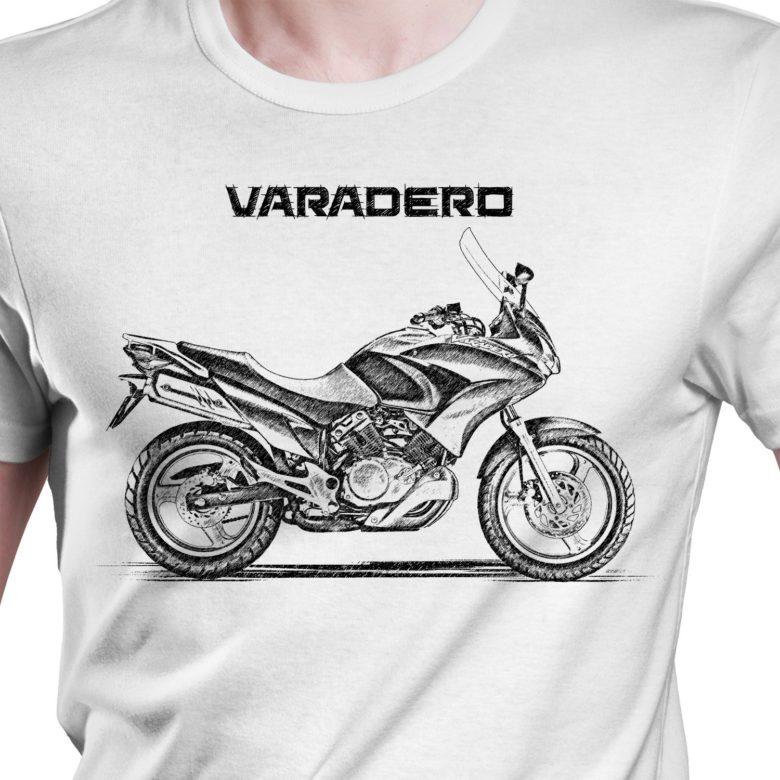 Prezent koszulka z Honda Varadero FL