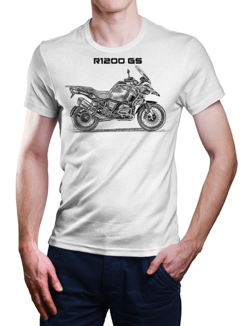 Koszulka z BMW R1200 GS