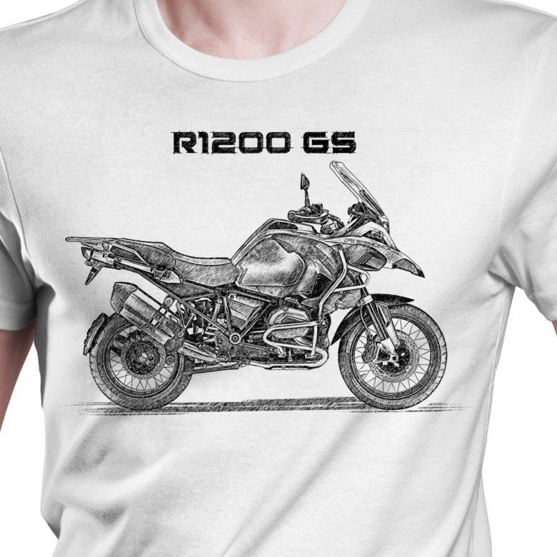 Prezent koszulka z BMW R1200 GS