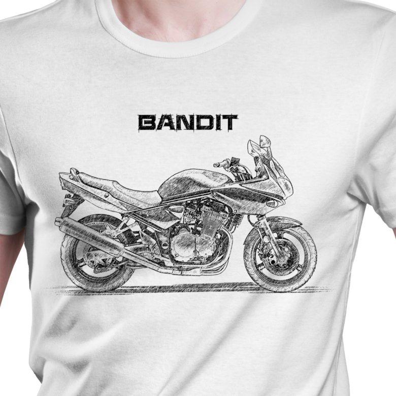 Prezent koszulka z Suzuki Bandit S