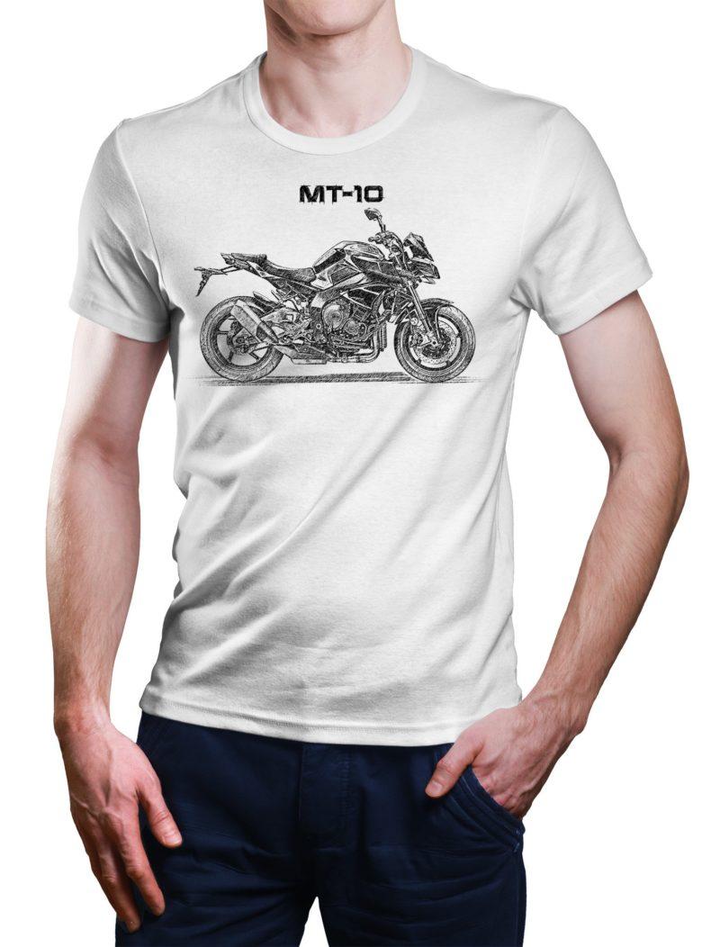 Koszulka z Yamaha MT-10