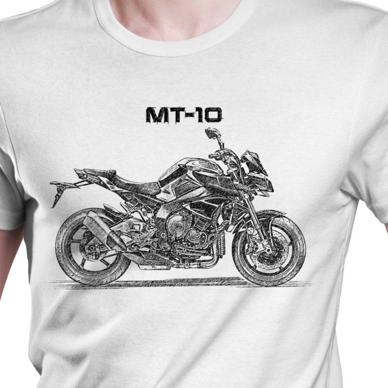 Prezent koszulka z Yamaha MT-10