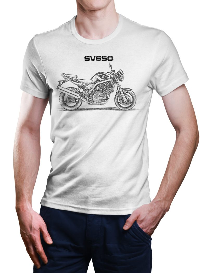 Koszulka z Suzuki SV650