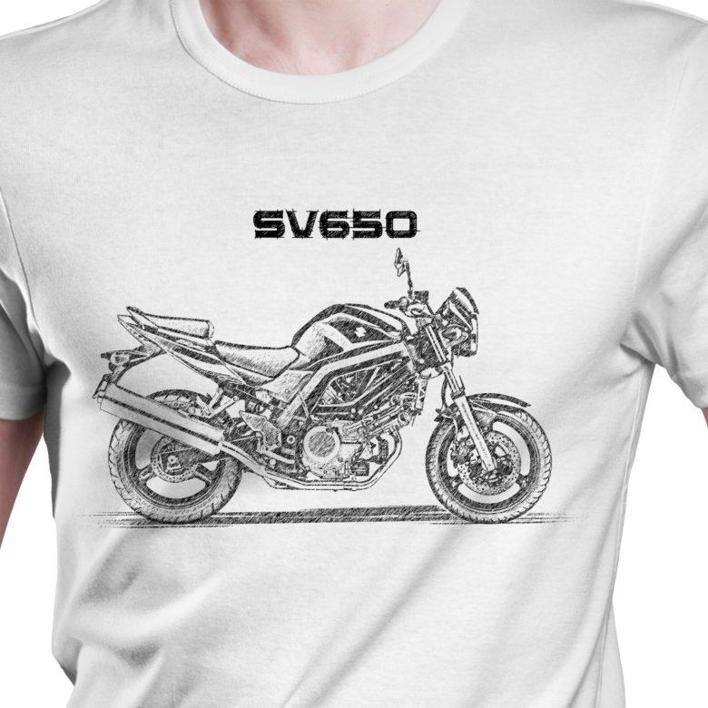 Prezent koszulka z Suzuki SV650