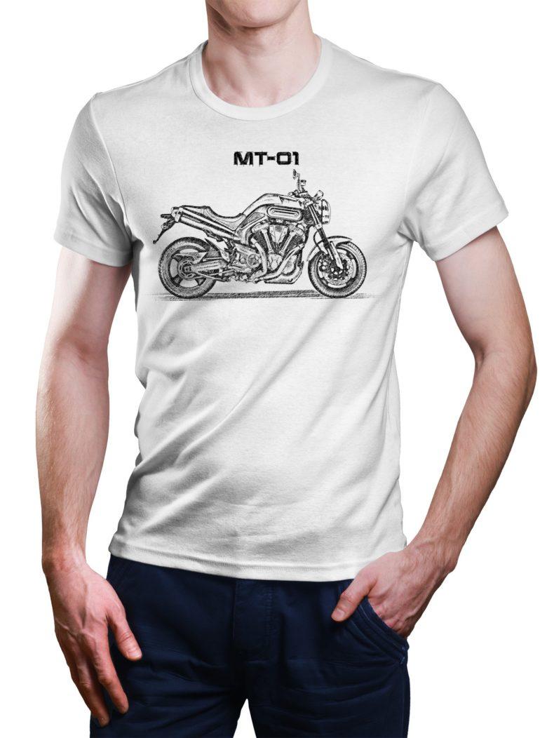 Koszulka z Yamaha MT-01