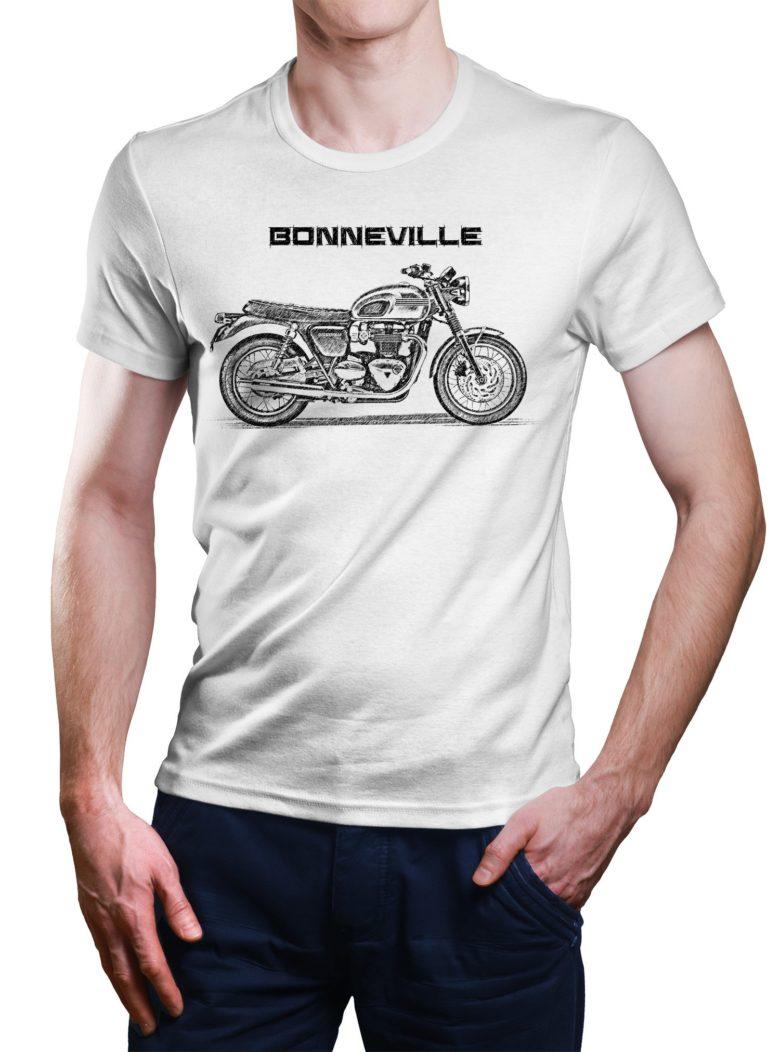 Koszulka z Triumph Bonneville T120