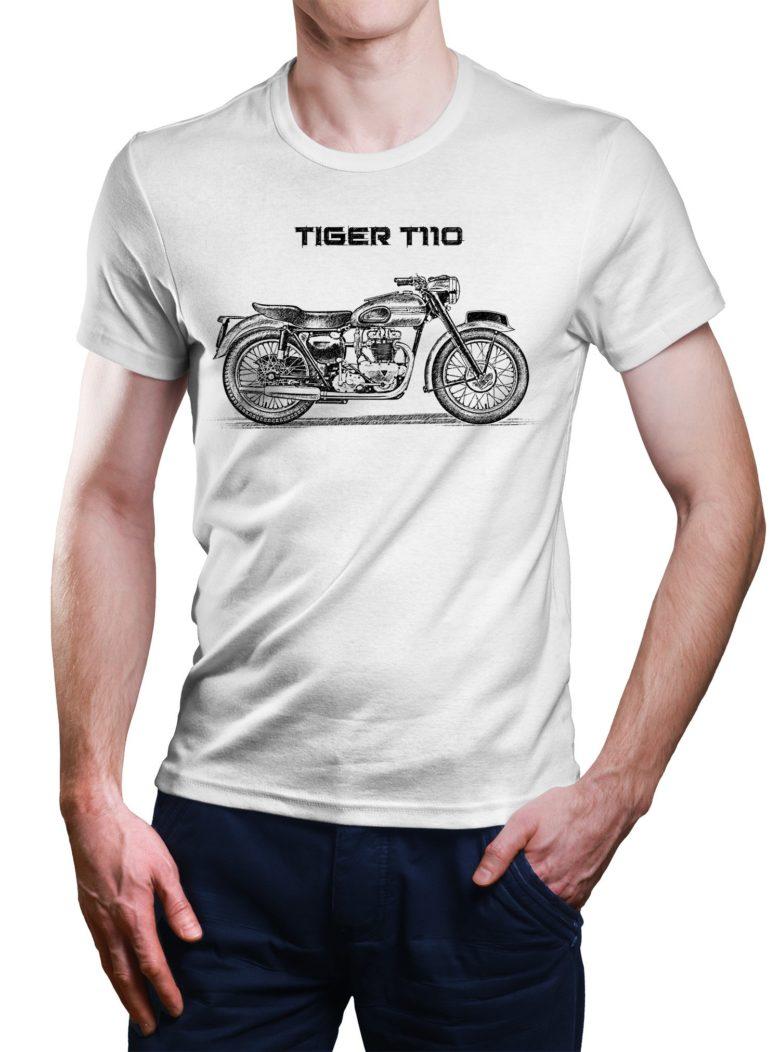 Koszulka z Triumph Tiger T110