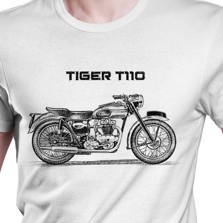 Prezent koszulka z Triumph Tiger T110