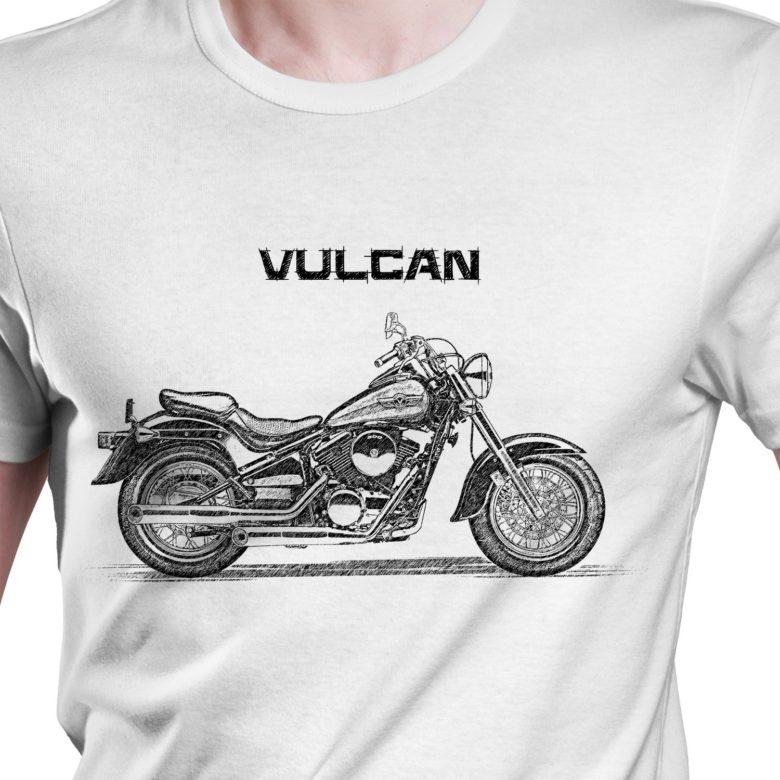 Prezent koszulka z Kawasaki VN 800 Classic