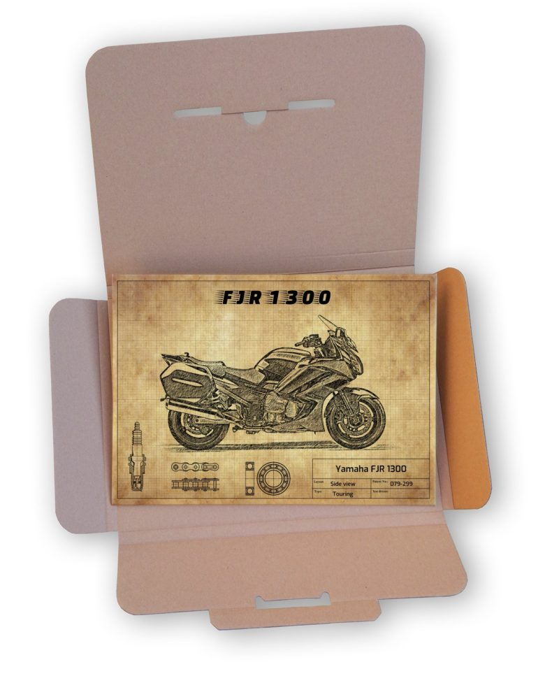Eleganckie opakowanie Yamaha FJR 1300