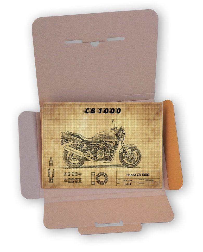 Eleganckie opakowanie Honda CB 1000